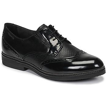 kengät Naiset Derby-kengät Tamaris KELA Black