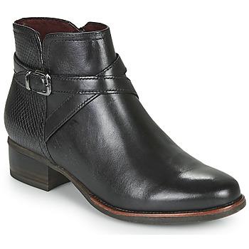kengät Naiset Nilkkurit Tamaris MARLY Black