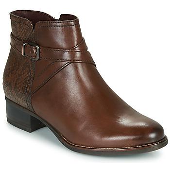 kengät Naiset Nilkkurit Tamaris MARLY Brown