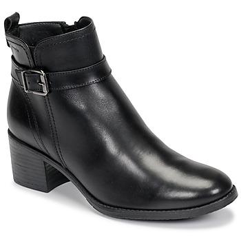 kengät Naiset Nilkkurit Tamaris PAULETTA Musta