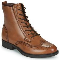 kengät Naiset Bootsit Tamaris SUZAN Brown