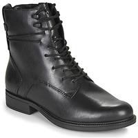kengät Naiset Bootsit Tamaris SUZAN Black