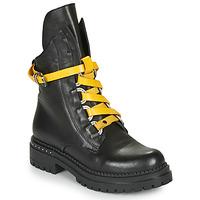 kengät Naiset Bootsit Metamorf'Ose HADASSA Black