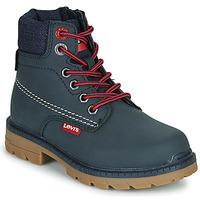 kengät Lapset Bootsit Levi's NEW FORREST Laivastonsininen