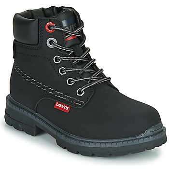 kengät Lapset Bootsit Levi's NEW FORREST Black
