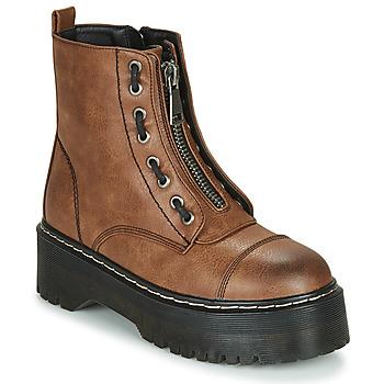 kengät Naiset Bootsit Emmshu AVRIL Cognac