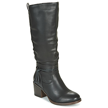kengät Naiset Saappaat Emmshu FILI Musta