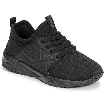 kengät Lapset Matalavartiset tennarit Kappa SAN DIEGO ELASTIC Black