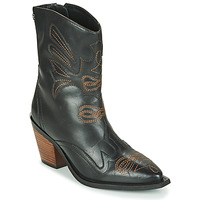 kengät Naiset Nilkkurit Gioseppo SERAING Black / Brown