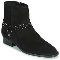 kengät Naiset Bootsit Ikks BOOTS GAUCHO Musta