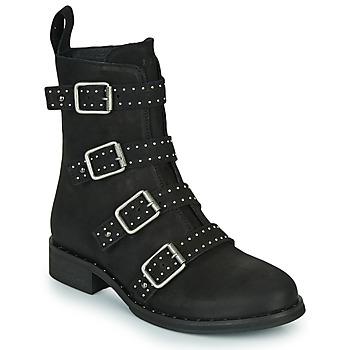 kengät Naiset Bootsit Ikks URBAN RANGERS Musta