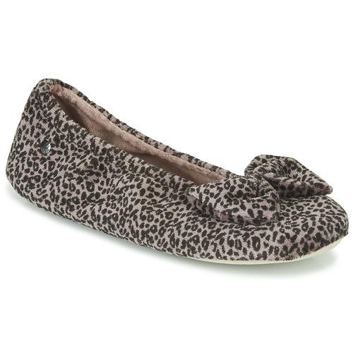 kengät Naiset Tossut Isotoner 97209 Leopardi