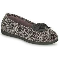 kengät Naiset Tossut Isotoner 97261 Leopardi