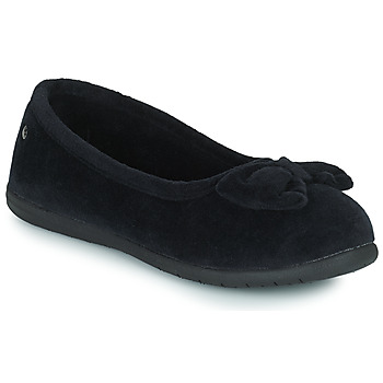 kengät Naiset Tossut Isotoner 97258 Musta