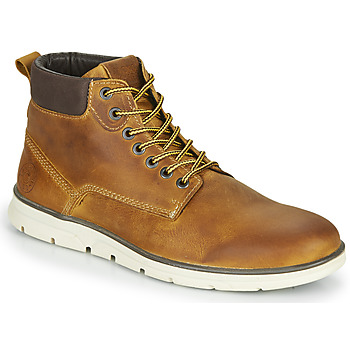 kengät Miehet Bootsit Jack & Jones JFW TUBAR LEATHER Ruskea