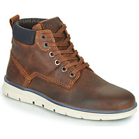 kengät Pojat Bootsit Jack & Jones JR TUBAR LEATHER Brown