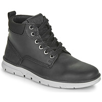 kengät Pojat Bootsit Jack & Jones JR TUBAR LEATHER Black