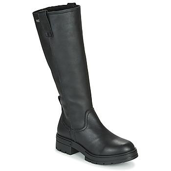 kengät Naiset Saappaat Musse & Cloud GEORGETE Musta