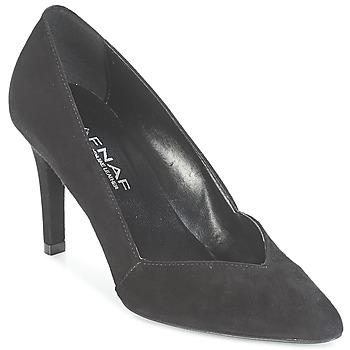 kengät Naiset Korkokengät Naf Naf CLASSIK Black