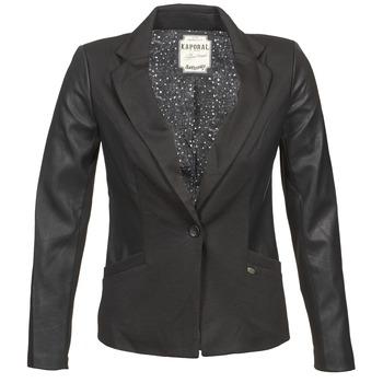 vaatteet Naiset Takit / Bleiserit Kaporal SOMA Black