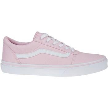 kengät Lapset Matalavartiset tennarit Vans Vard Canvas Vaaleanpunaiset