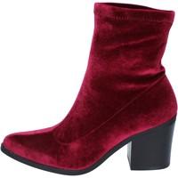 kengät Naiset Nilkkurit Fornarina Nilkkasaappaat BM167 Violetti