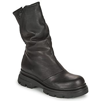 kengät Naiset Saappaat Papucei LUZ Musta