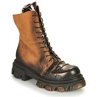 kengät Naiset Bootsit Papucei NURIA Ruskea / Musta
