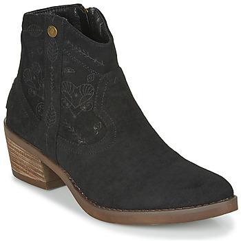 kengät Naiset Nilkkurit Refresh 72472 Black