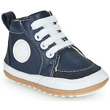 kengät Lapset Korkeavartiset tennarit Robeez MIGO Laivastonsininen