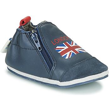 kengät Lapset Tossut Robeez LONDON FLAG Laivastonsininen
