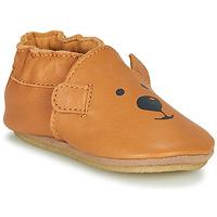 kengät Lapset Tossut Robeez SWEETY BEAR CRP Camel