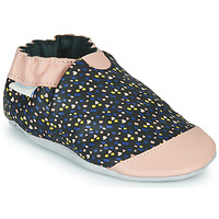 kengät Tytöt Tossut Robeez RAINY LOVE Black / Pink