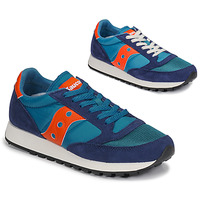 kengät Miehet Matalavartiset tennarit Saucony JAZZ VINTAGE Blue / Orange
