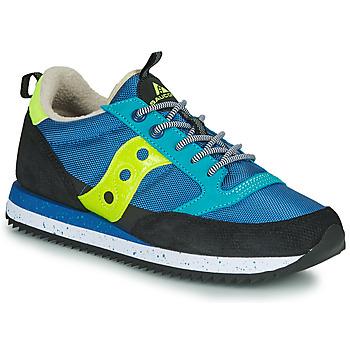 kengät Miehet Matalavartiset tennarit Saucony JAZZ (PEAK) Blue / Black / Yellow