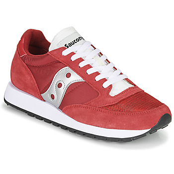 kengät Miehet Matalavartiset tennarit Saucony JAZZ VINTAGE Red / White