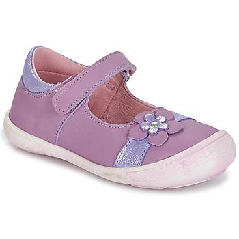 kengät Tytöt Balleriinat Citrouille et Compagnie RETUNE Violet