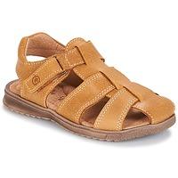 kengät Pojat Sandaalit ja avokkaat Citrouille et Compagnie MELTOUNE Sinappi