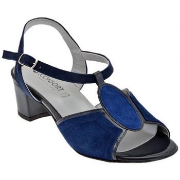 kengät Naiset Sandaalit ja avokkaat Confort  Sininen