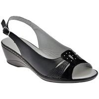 kengät Naiset Sandaalit ja avokkaat Confort  Musta