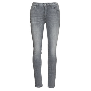 vaatteet Naiset Slim-farkut Karl Lagerfeld SKINNY DENIMS W/ CHAIN Harmaa