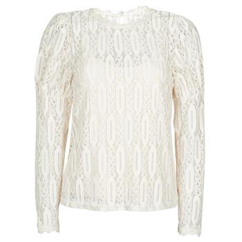 vaatteet Naiset Lyhythihainen t-paita Cream VIVI LS TSHIRT Beige