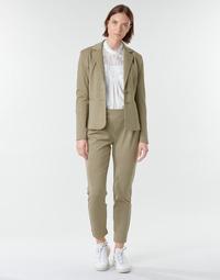 vaatteet Naiset 5-taskuiset housut Cream ANETT PANT Beige