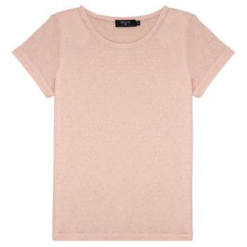 vaatteet Tytöt Lyhythihainen t-paita Deeluxe GLITTER Pink