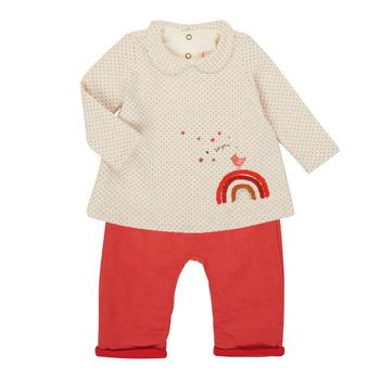 vaatteet Tytöt Kokonaisuus Catimini CR36031-60 Pink
