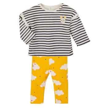 vaatteet Tytöt Kokonaisuus Catimini CR36041-71 Multicolour