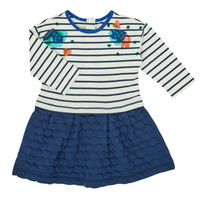 vaatteet Tytöt Lyhyt mekko Catimini CR30133-12 Monivärinen
