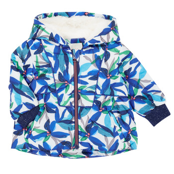 vaatteet Tytöt Parkatakki Catimini CR42053-88 Monivärinen