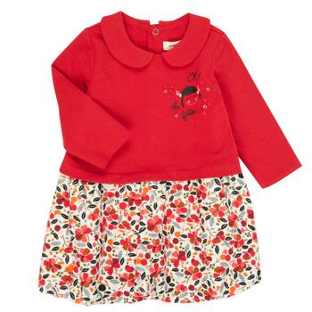 vaatteet Tytöt Lyhyt mekko Catimini CR30043-38 Monivärinen