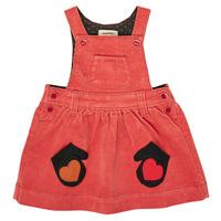 vaatteet Tytöt Lyhyt mekko Catimini CR31003-67 Punainen